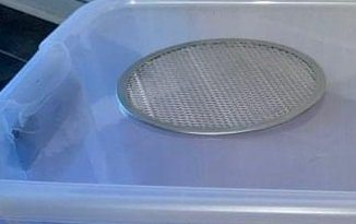 ball python tub lid modification